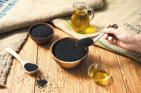 óleo de semente preta