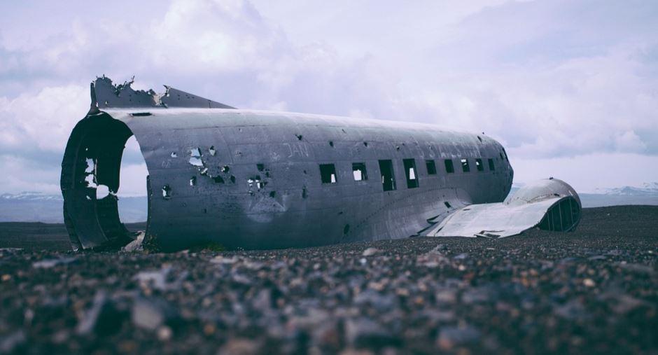 acidente de avião