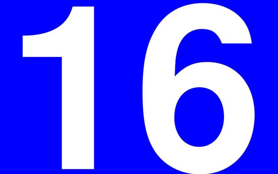 Significado do Número 16: Numerologia dezesseis