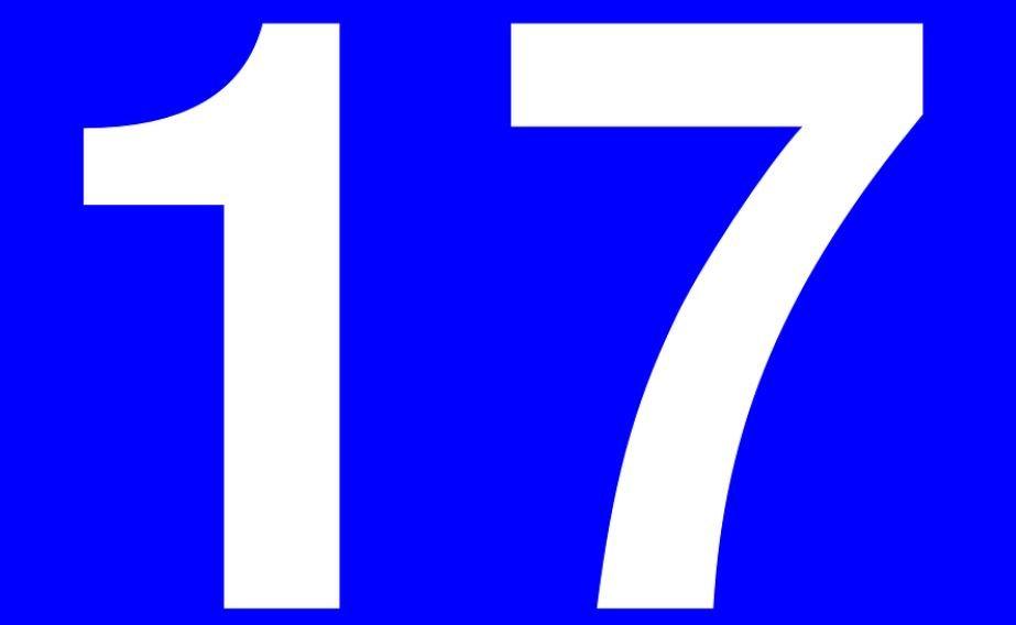 Significado do Número 17: Numerologia dezessete