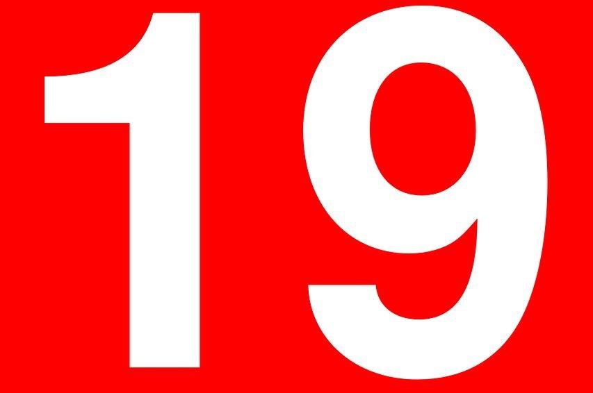 Significado do número 19: Numerologia dezenove