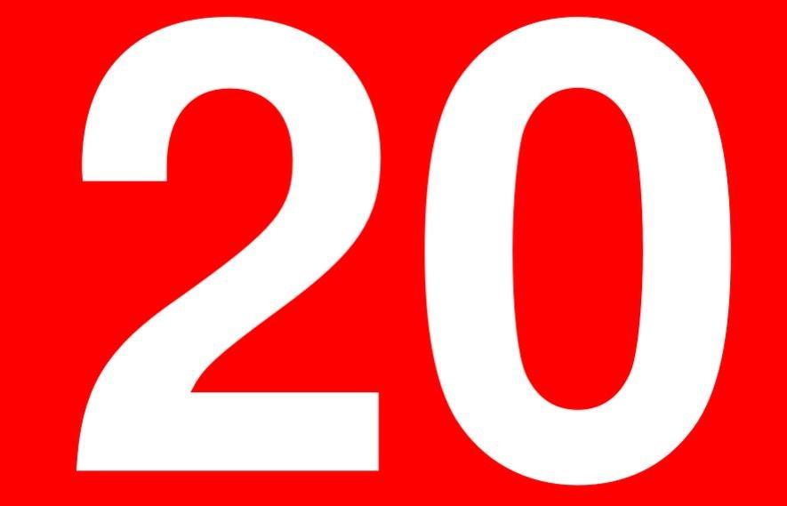 Significado do número 20: Numerologia Vinte