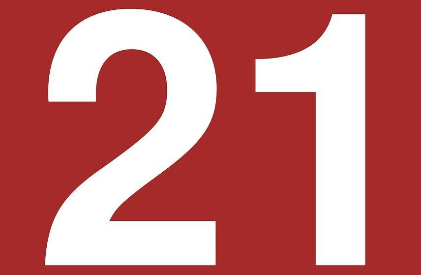 Significado do número 21: Numerologia vinte e um