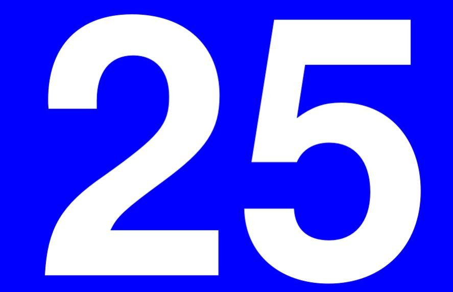 Significado do número 25: Numerologia Vinte e cinco