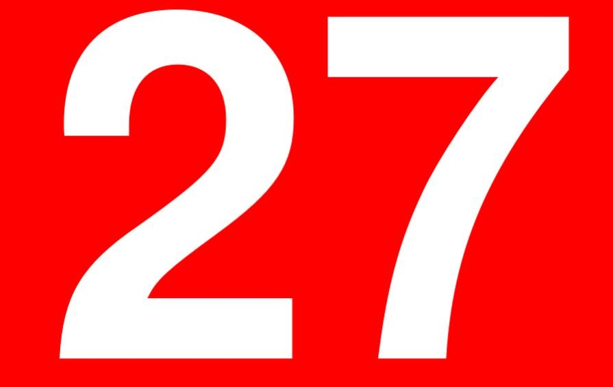 Significado do número 27: Numerologia vinte e sete
