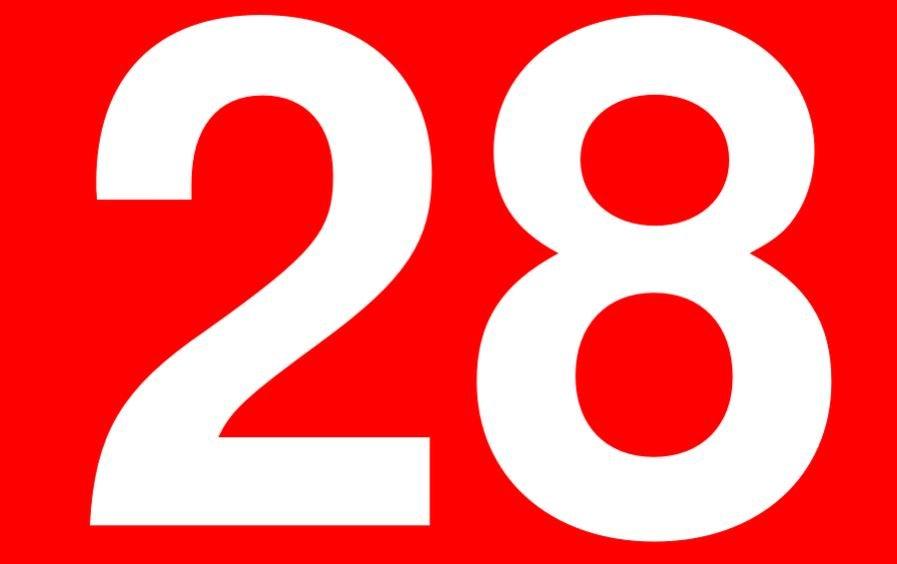 Significado do número 28: Numerologia Vinte e oito