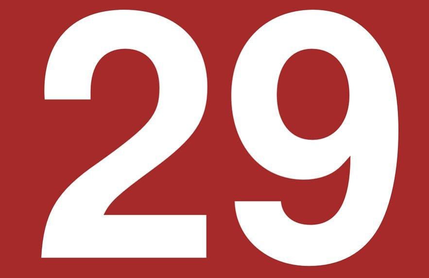 Significado do número 29: Numerologia Vinte e nove