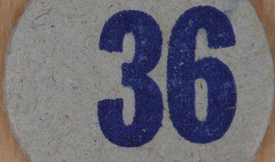 Significado do número 36: Numerologia Trinta e seis