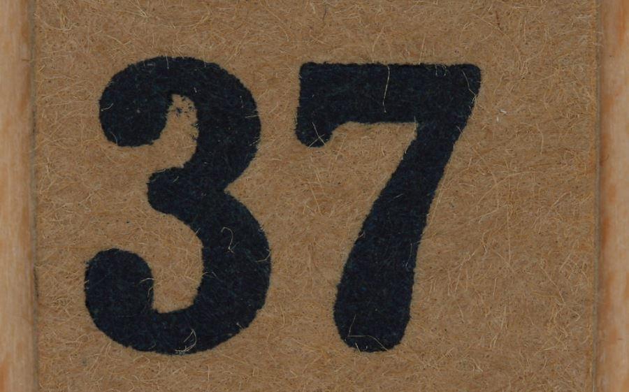 Significado do número 37: Numerologia Trinta e sete