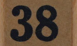Significado do número 38: Numerologia Trinta e oito