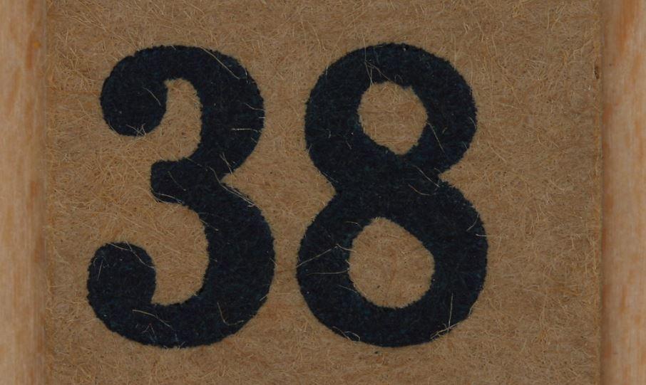 número 38