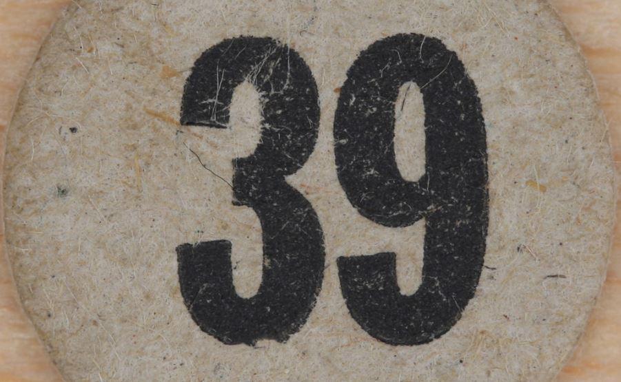 Significado do número 39: Numerologia Trinta e nove