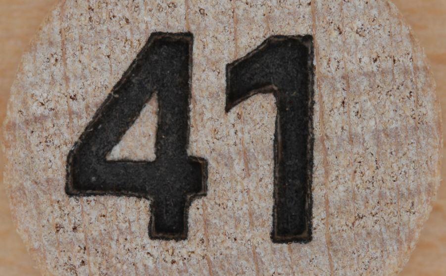 Significado do número 41: Numerologia Quarenta e um