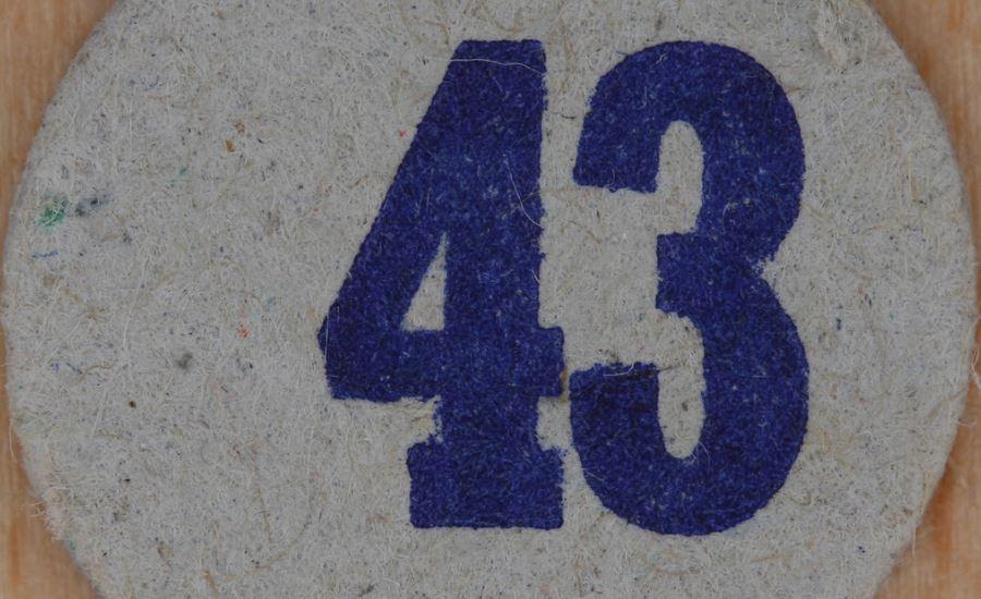 Significado do número 43: Numerologia Quarenta e três