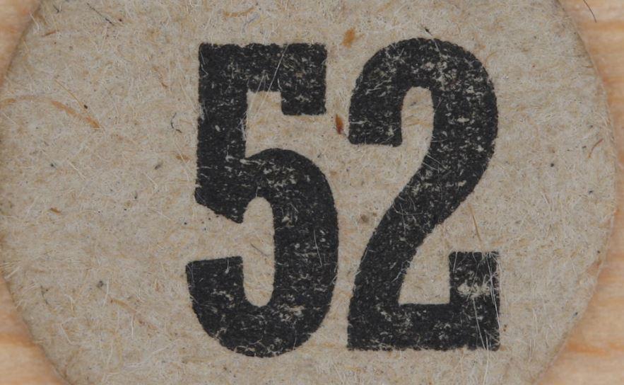 Significado do número 52: Numerologia Cinquenta e dois