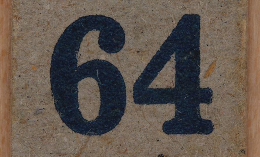 Significado do número 64: Numerologia Sessenta e quatro