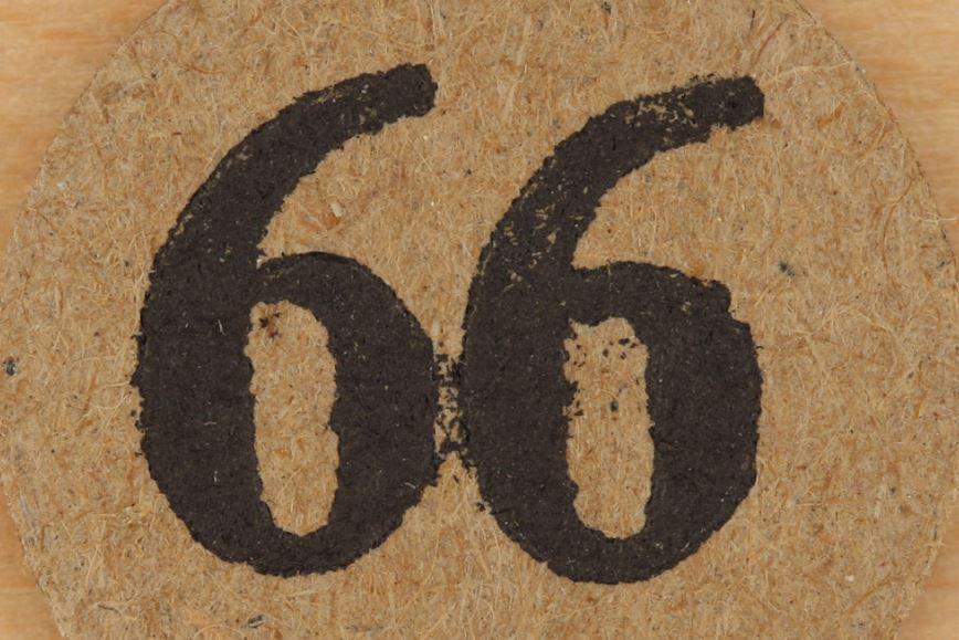 Significado do número 66: Numerologia Sessenta e seis