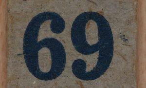 Significado do número 69: Numerologia Sessenta e nove