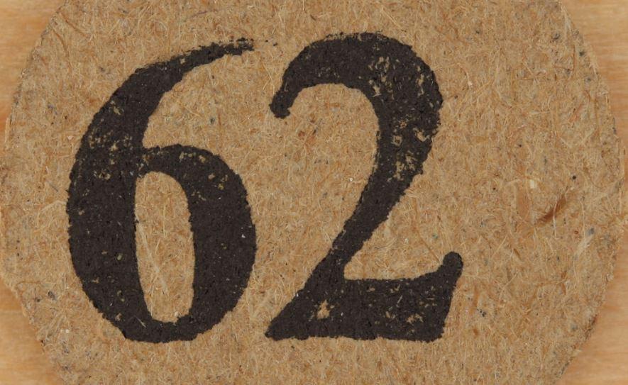 Significado do número 62: Numerologia Sessenta e dois
