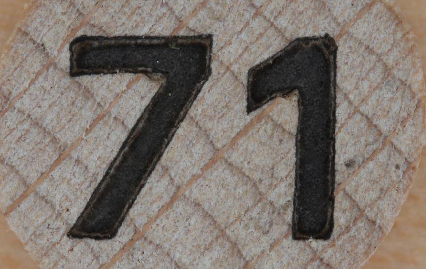 Significado do número 71: Numerologia Setenta e um