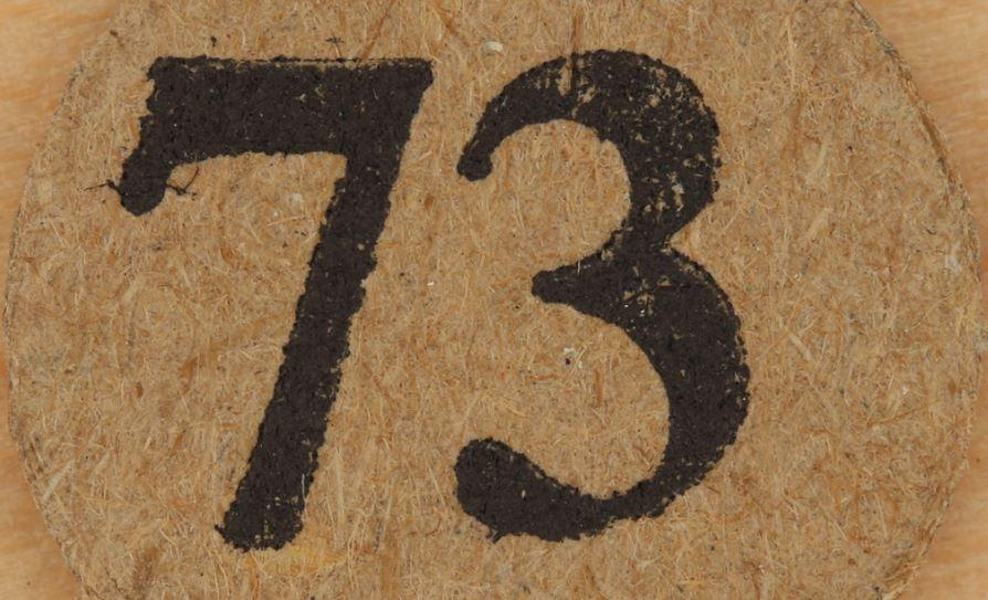 Significado do número 73: Numerologia Setenta e três