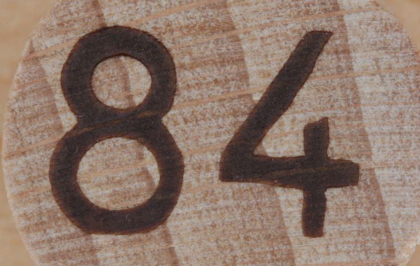 Significado do número 84: Numerologia Oitenta e quatro