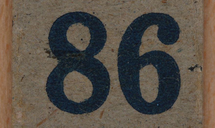 Oitenta e seis