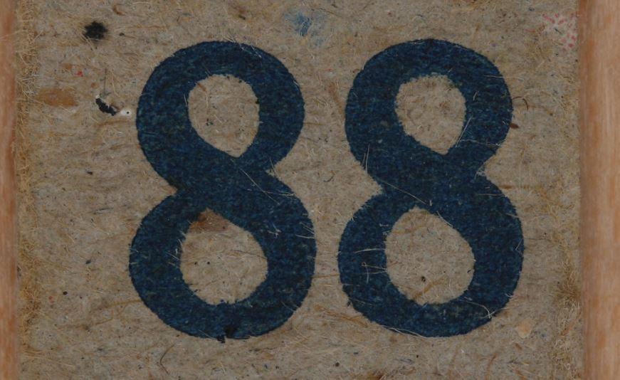 Significado do número 88: Numerologia Oitenta e oito