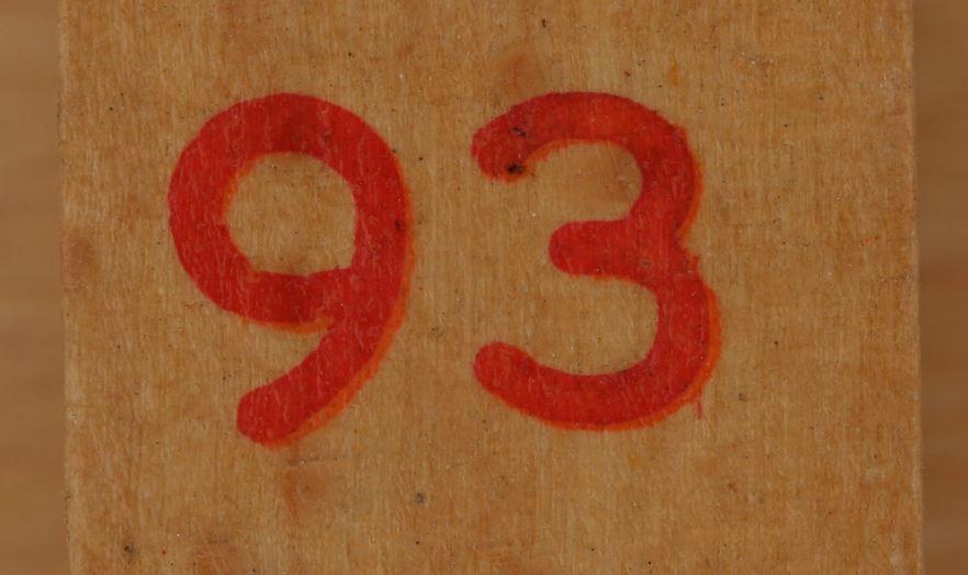 Significado do número 93: Numerologia Noventa e três