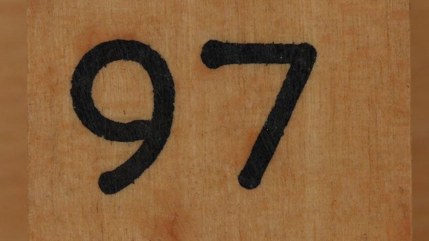 Significado do número 97: Numerologia Noventa e sete