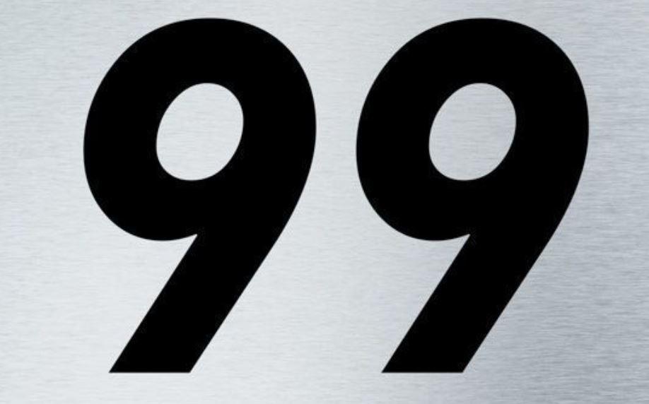 Significado do número 99: Numerologia Noventa e nove