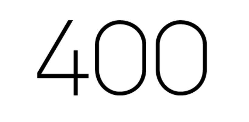 Significado do número 400: Numerologia Quatrocentos