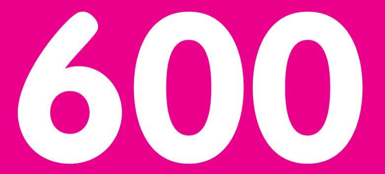Significado do número 600: Numerologia Seiscentos