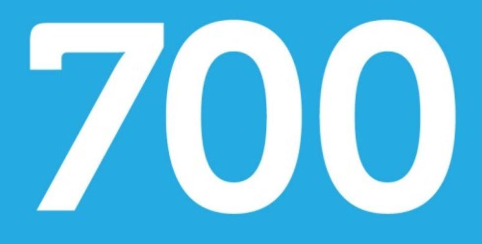 Significado do número 700: Numerologia setecentos