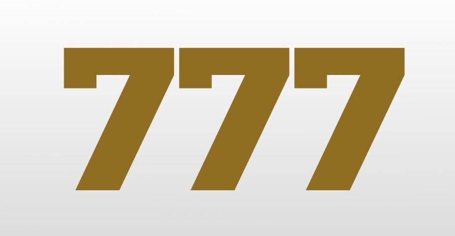 Significado do número 777: Numerologia Setecentos e setenta e sete
