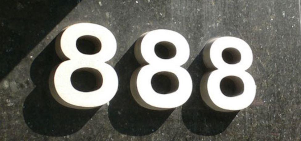 Significado do número 888: Numerologia Oitocentos e oitenta e oito