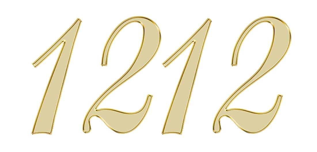 Significado do número 1212: Numerologia Mil duzentos e doze