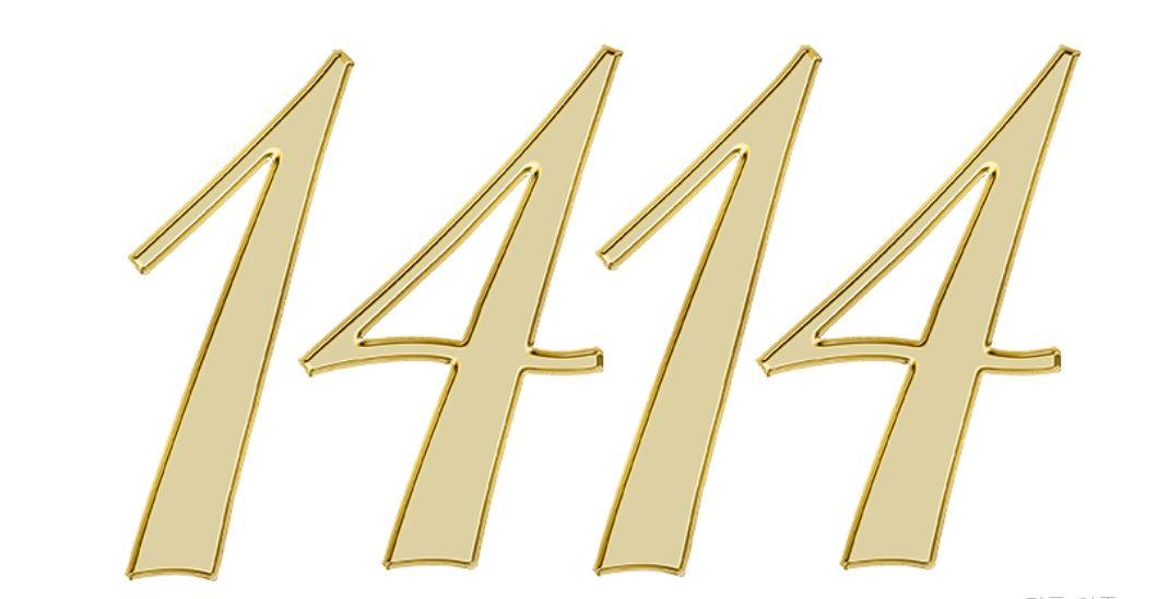 Significado do número 1414: Numerologia mil quatrocentos e catorze
