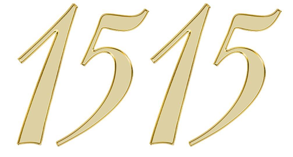 Significado do número 1515: Numerologia mil quinhentos e quinze