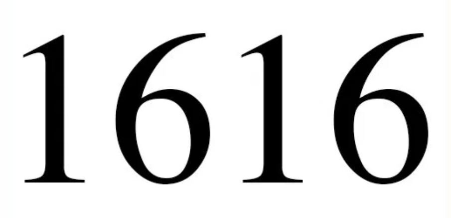 Significado do número 1616: Numerologia mil seiscentos e dezasseis