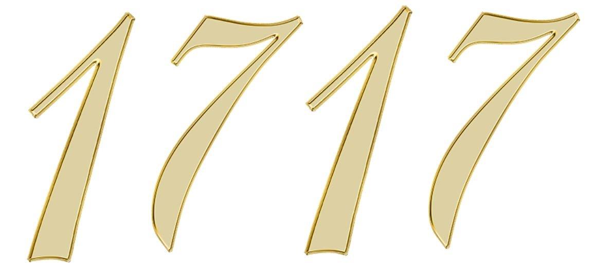 Significado do número 1717: Numerologia mil setecentos e dezassete