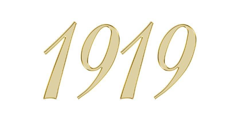 Significado do número 1919: Numerologia mil novecentos e dezanove
