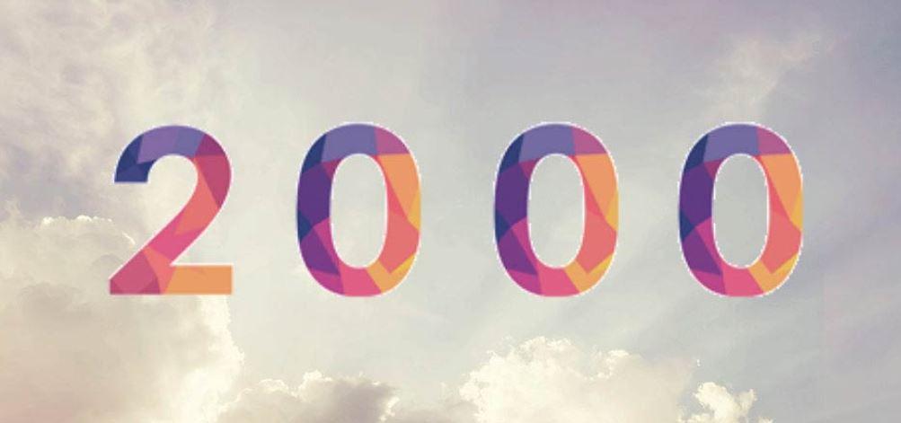 Significado do número 2000: Numerologia dois mil
