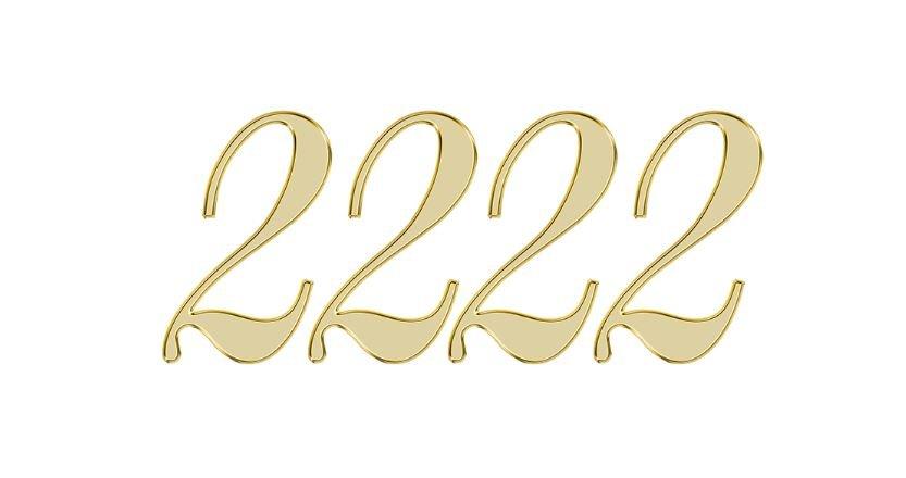 Significado do número 2222: Numerologia dois mil duzentos e vinte e dois
