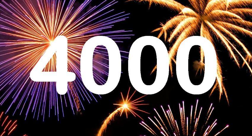 Significado do número 4000: Numerologia quatro mil