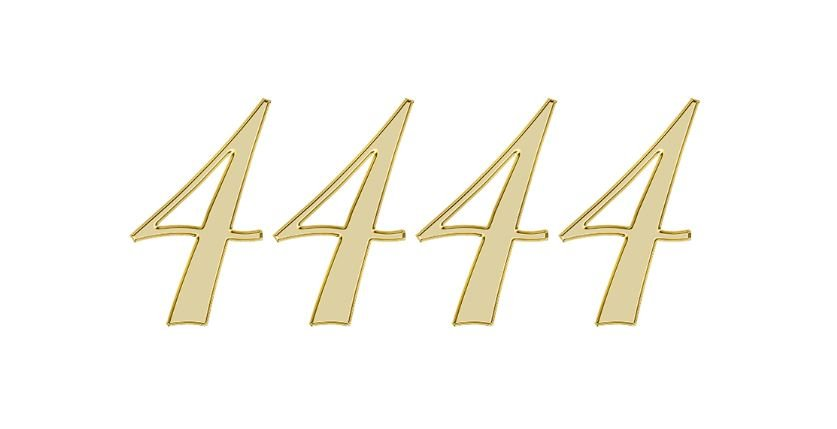 Significado do número 4444: Numerologia quatro mil quatrocentos e quarenta e quatro
