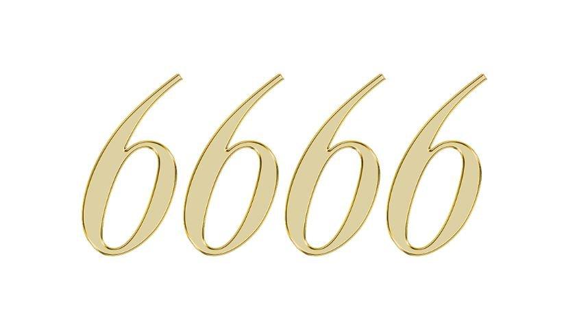 Significado do número 6666: Numerologia seis mil seiscentos e sessenta e seis