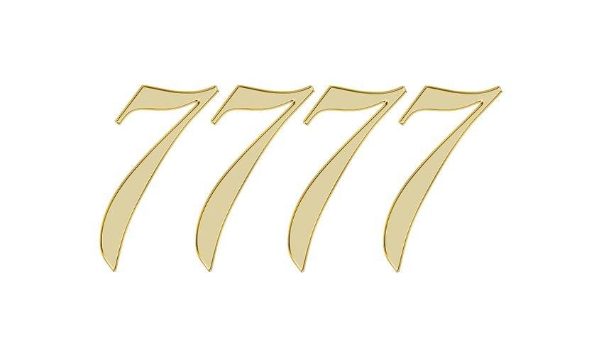 Significado do número 7777: Numerologia sete mil setecentos e setenta e sete