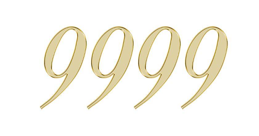 Significado do número 9999: Numerologia nove mil novecentos e noventa e nove