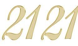 Significado do número 2121: Numerologia Dois mil cento e vinte e um